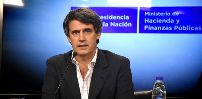Finance Minister Alfonso Prat Gay leads the team that offers the Argentina bonds