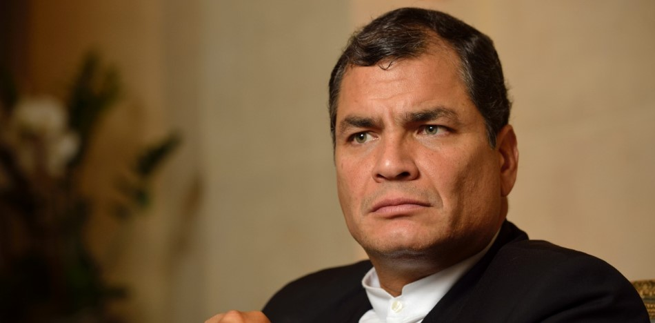 Ecuador President Decries Alleged Right-Wing Conspiracy