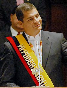 Ecuador: Rafael Correa, From GoogleImages