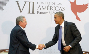 Castro and Obama met on April 11 to establish the next steps in an ongoing thaw in US-Cuban relations.