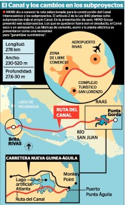 Route chosen for Nicaragua's interoceanic canal