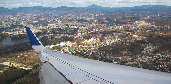 View of Tegucigalpa, Honduras