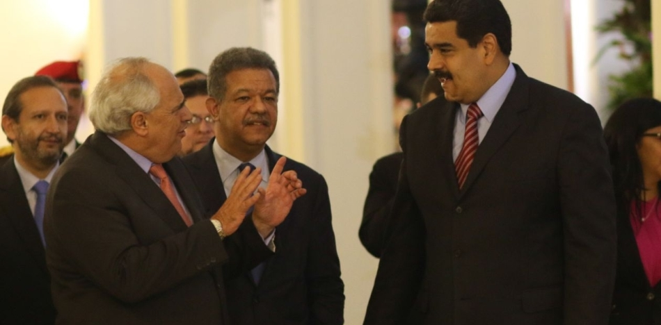 Dialogue between Maduro and Venezuelan Opposition