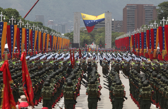 The Venezuelan Army may participate in political rallies